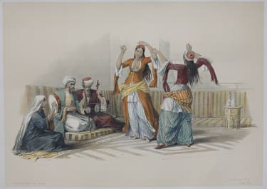 THE GHAWAZEES OR DANCING GIRLS OF CAIRO