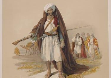 EGYPT   ARABS OF THE DESERT    ..ROBERTS   FOLIO