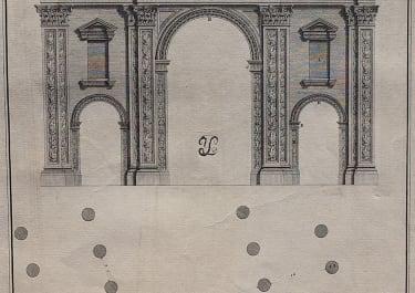 ARCHITECTURE WOOD'S PALMYRA PLATE XXII