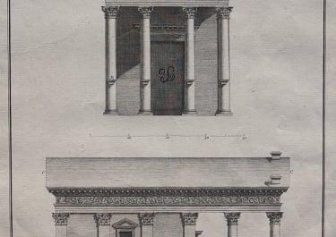 ARCHITECTURE WOOD'S PALMYRA PLATE XXVIII