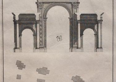 ARCHITECTURE WOOD'S PALMYRA PLATE XXV