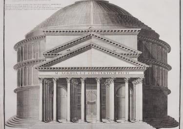 ROME  PANTHEON   LE GRAND PANTHEON DE ROME