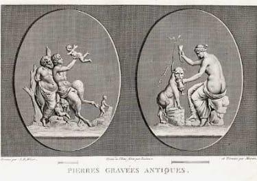 PIERRES GRAVEES ANTIQUES