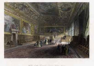 HALL OF THE COUNCIL,DOGES PALACE VENICE