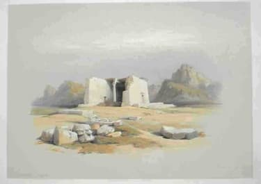 TEMPLE OF TAFA IN NUBIA