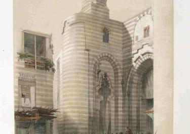 CAIRO THE GATE OF THE METWALIS OR BAB ZUWEYLEH