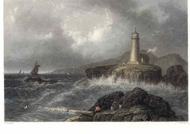 DESERT ROCK LIGHTHOUSE MAINE