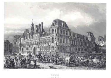 PARIS L'HOTEL DE VILLE