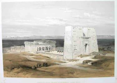 TEMPLE OF EDFOU ANCIENT APPOLINOPOLIS UPPER EGYPT