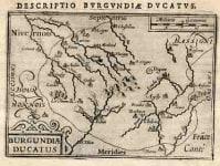 BURGANDY BURGANDIAE DUCATUS DIJON