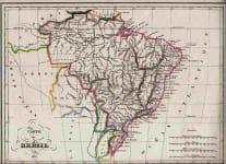 BRASIL CARTE DE BRESIL