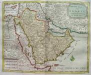 ARABIA NIEUWE KAART VAN ARABIA