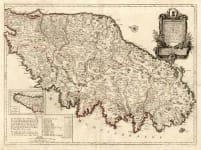 CORSICA CARTE PARTICULIERE DE L'ISLE DE CORSE
