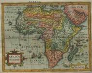AFRICA AFRICAE DESCRIPTIO
