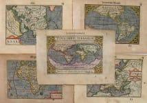 WORLD & CONTINENTS TYPUS ORBIS TERRARUM