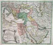 TURKISH EMPIRE TABULA GEOGRAPHICA IMPERII TURCICI
