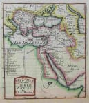 A NEW MAP OF THE TURKISH EMPIRE