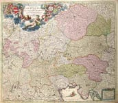 AUSTRIAN EMPIRE GERMANIA AUSTIACA COMPLECTENS S R I CIRCULUM AUSTRIACUM