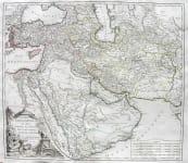 TURKISH EMPIRE ETATS DU GRAND -SEIGNEUR EN ASIE