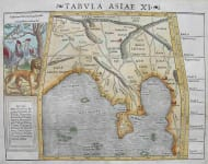 INDIA TABULA ASIAE XI
