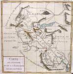 IRAQ SYRIA CARTE DE L'ASSYRIE ET DE LA BABYLON