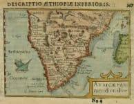 SOUTH AFRICA AFRICAE PARS MERIDIONALIOR