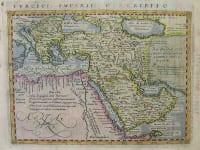 TURKISH EMPIRE TURCICI IMPERII DESCRIPTIO
