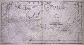 SEA CHART THAMES, EAST ANLGIA CARTE DE L'ENTREE DE LA TAMISE