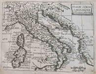 ITALY ITALIE CORSE SARDAIGNE ET PROUINCES ADIACENTES