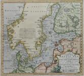 BALTIC SEA A CHART OF THE BALTIC SEA