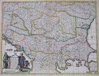 DANUBE HUNGARIAE, TRANSYLVANIAE SERVIAE, BULGARIAE