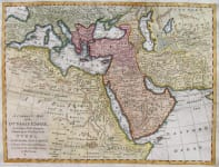 TURKISH EMPIRE A CORRECT MAP OF THE OTTOMAN EMPIRE