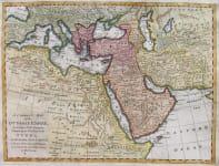 TURKISH EMPIRE A CORRECT MAP OF THE OTTOMAN EMPIRE