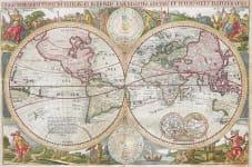 WORLD ORBIS TERRARUM TYPUS DE INTEGRO IN PLURIMIS EMENDATUS