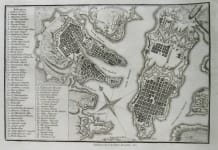 MALTA VALETTA A PLAN OF THE CITY OF MALTA
