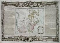 NORTH AMERICA NOUVEAU MEXIQUE,LOUISIANE,CANADA ET NLLE ANGLETERRE