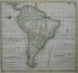 SOUTH AMERICA A MAP OF SOUTH AMERICA ACCORDING TO THE BEST AUTHORITIES