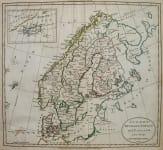 SCANDINAVIA SWEDEN DENMARK NOEWAY AND FINLAND FROM THE BEST AUTHORITIES
