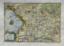 LANGUEDOC CARTE DE BAS LAGUEDOC (sic)