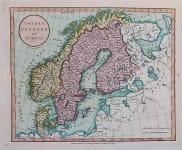 SCANDINAVIA SWEDEN DENMARK AND NORWAY