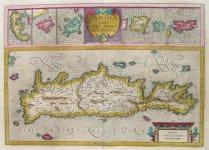 CRETE & ISLANDS CANDIA CUM INSULIS ALIQUOT CIRCA GRAECIAM