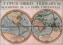 WORLD TYPUS ORBIS TERRARUM DESCRIPTION DE LA TERRE UNIVERSELLE