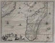 MADAGASCAR INSULA S LAURENTII VULGO MADAGASCAR
