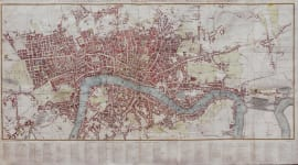 LONDON PLAN OF THE CITIES OF LONDON AND WESTMINSTER