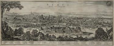 PARIS PANORAMA PARYS WIE SOLCHE 1620 ANZUSEHEN GEWESSEN