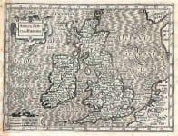 BRITISH ISLES ANGLIA SCOTIA ET HINERNIA