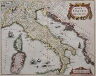 ITALY  NOVA ITALIAE DELINEATIO
