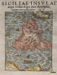 SICILY SICILIAE IVSULAE