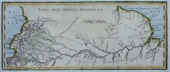 AMAZON RIVER  PARTE DELL AMERICA MERIDIONALE