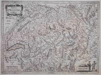 SWITZERLAND MERCATOR / JANSSONIUS